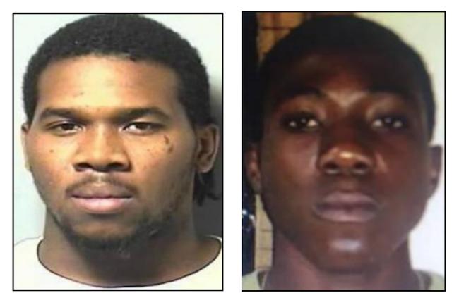 22 year old Tahnarze Ferguson and 28 year old Jorel Augustin
