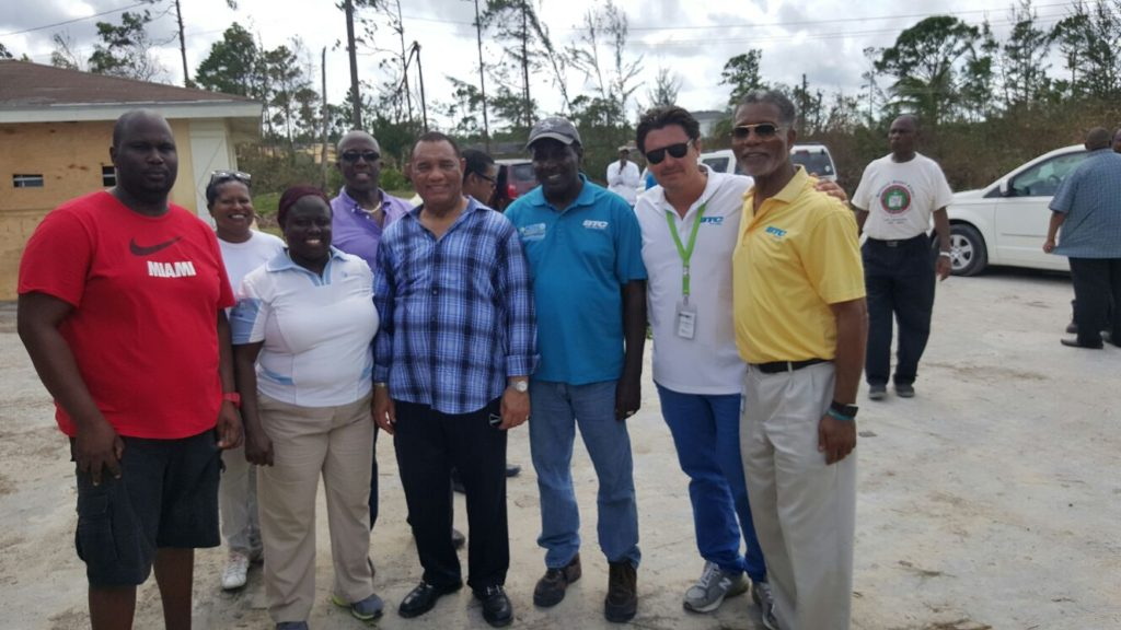PM Christie on Andros with BTC CEO and Team making an assessmemt in Andros.