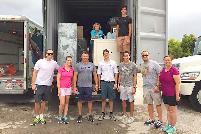 Friends from Boca team up to help Bahamians...