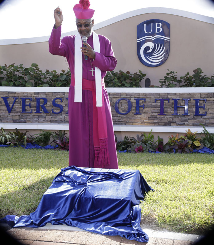 Bishop Laish Boyd Bishop of the Bahamas and Turks And Caicos Islands.