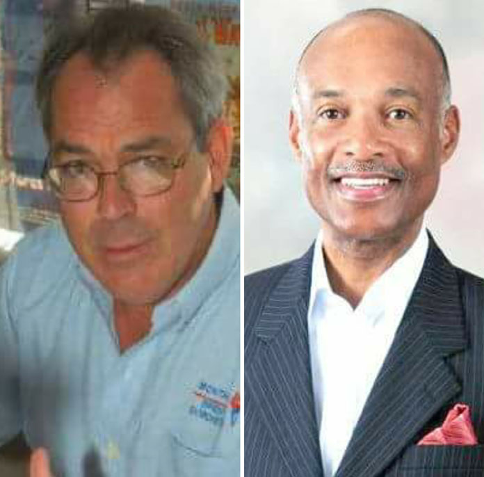 (Left)Brent Symonette to take St. Annes while (R) Jeff Lloyd takes South Beach nominations.
