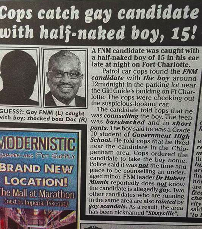 Candidate could become the first ONLY GAY/Pedophile MP! WHAT IN DA HELL IS DIS?