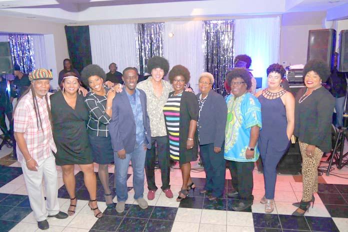 BTC's executive team members. Left to Right: Leon Williams, CEO, Nicole Watkins (VP/Legal), Pat Walters (SVP/Customer Service), Carlyle Roberts (VP/Business), Chris Mayer (SVP/Business), Janet Brown (CMO), Valarie Wallace (VP/HR), Naaman Ellis (CNO), Neisha Butler (DCFO), Eldri Ferguson-Mackey (VP/Marketing)