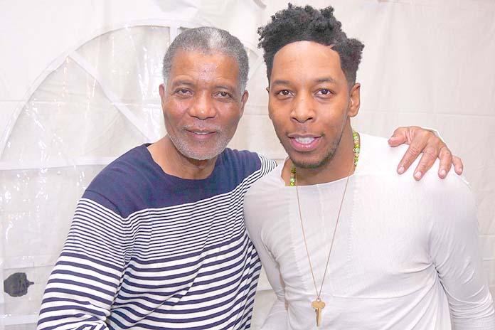 CEO Leon Williams and international gospel superstar Deitrick Haddon