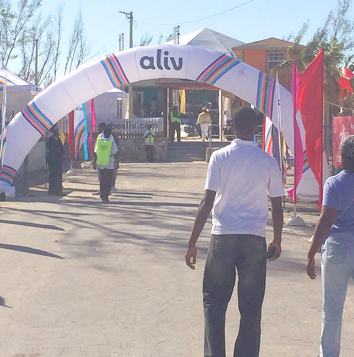 Aliv event on Grand Bahama over the weekend. Now layoffs have begun.