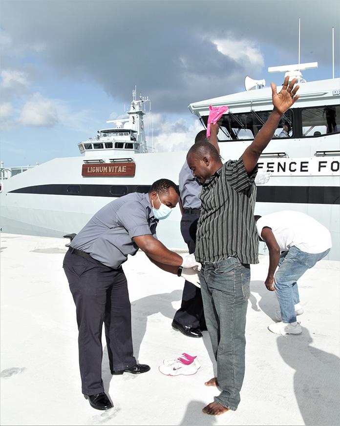 haitian migrants apprehended in the exumas bahamaspress