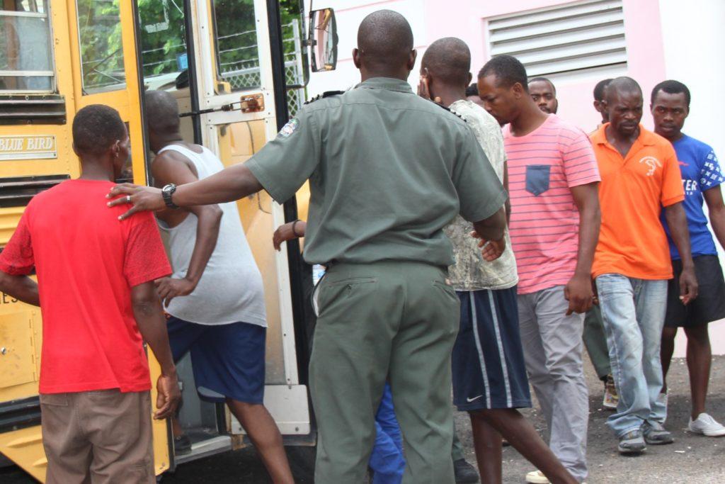 113 haitian migrants repatriated from great inagua
